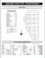 Index Map, Adams County 1993